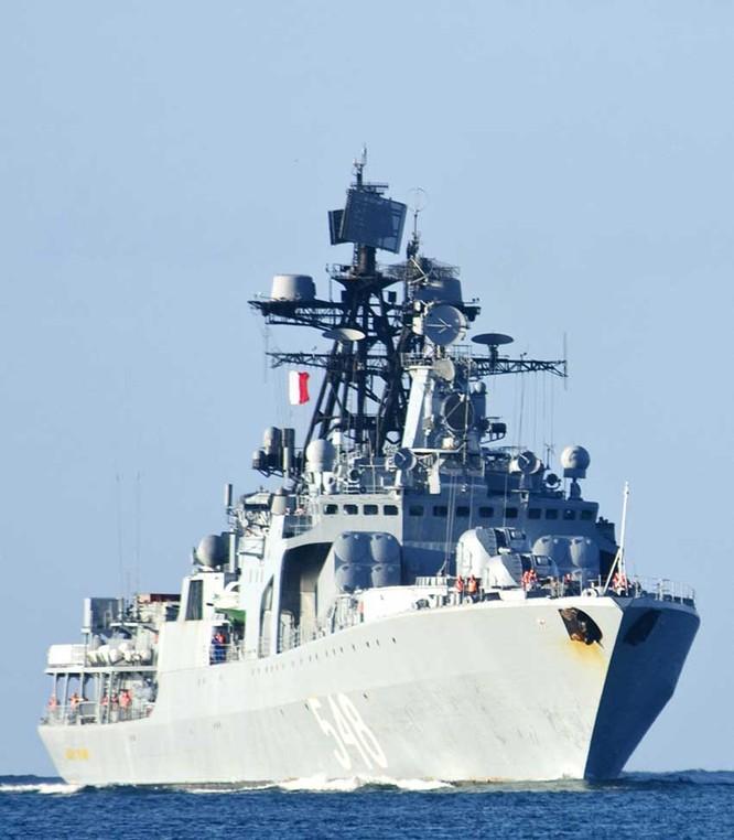 Tàu khu trục Admiral Panteleyev lớp Udaloy Hải quân Nga (ảnh tư liệu)