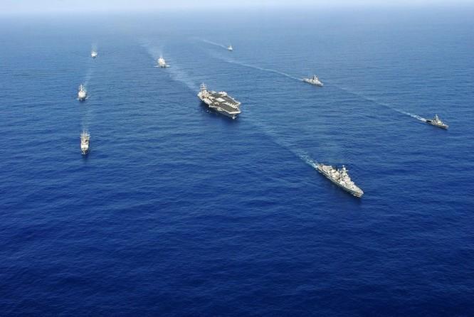 Mỹ và Ấn Độ tiến hành tập trận chung ở Tây Thái Bình Dương (ảnh tư liệu)
