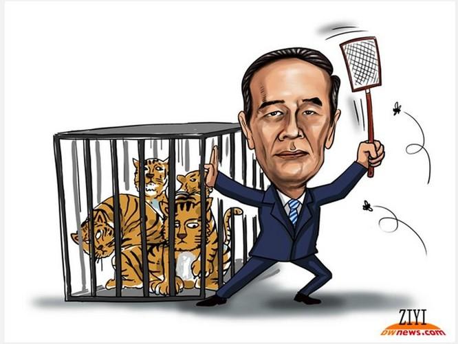 Trung Quốc đẩy mạnh cuộc chiến chống tham nhũng dưới thời Tập Cận Bình. Ảnh: Đa Chiều