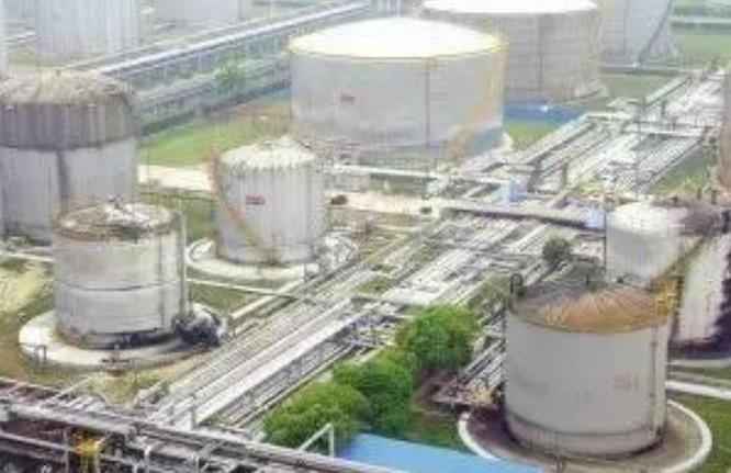 Cơ sở dự trữ dầu mỏ quốc gia Trấn Hải. Ảnh: Thời báo Hoàn Cầu