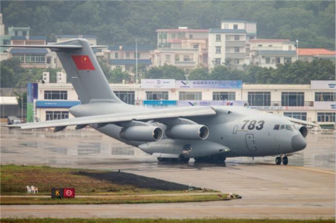 Máy bay vận tải cỡ lớn Y-20 Trung Quốc. Ảnh: Sina