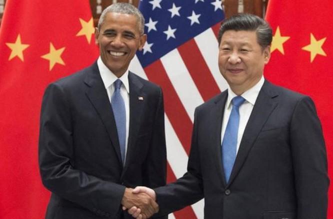 Tổng thống Mỹ Barack Obama và người đồng cấp Trung Quốc. Ảnh: Người quan sát, Trung Quốc