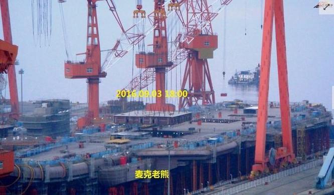 Trung Quốc lộ hình ảnh ráo riết đóng tàu sân bay ảnh 3
