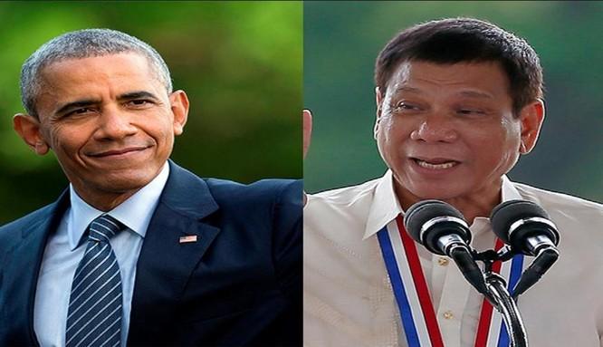 Tổng thống Mỹ Barack Obama hủy bỏ cuộc gặp với Tổng thống Philippines Rodrigo Duterte do phát biểu gây sốc của ông Duterte.