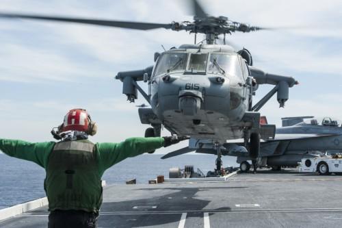 Tàu sân bay USS Carl Vinson Hải quân Mỹ (ảnh tư liệu)