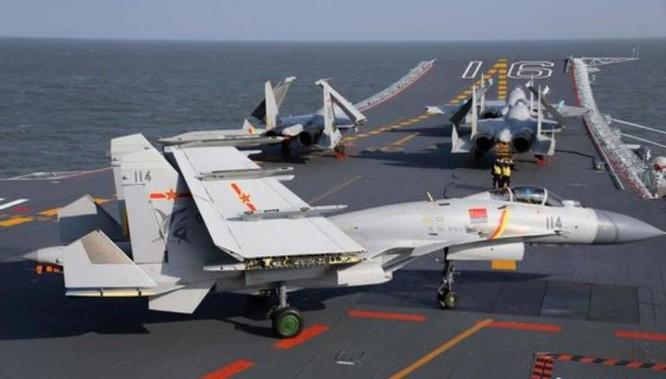 Tàu sân bay Liêu Ninh, Hải quân Trung Quốc. Ảnh: Chinanews