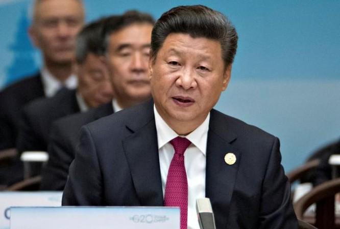 Chủ tịch Trung Quốc, Tập Cận Bình tại Hội nghị Thượng đỉnh G20, Hàng Châu, Trung Quốc. Ảnh: VOA/Reuters