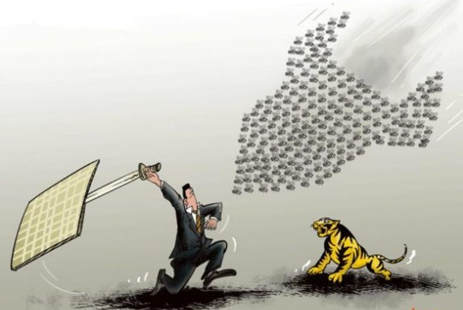 Trung Quốc đẩy mạnh cuộc chiến chống tham nhũng