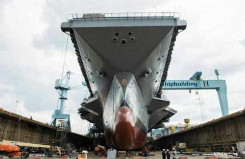 Mỹ chậm biên chế tàu sân bay Ford ảnh lớn lớn đến chính sách Biển Đông ảnh 1