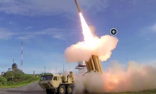Hệ thống phòng thủ khu vực tầm cao giai đoạn cuối (THAAD) Mỹ. Ảnh: Eastday.