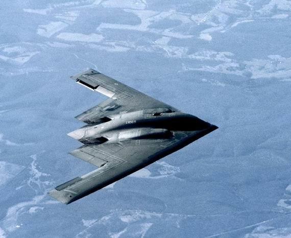 Máy bay ném bom chiến lược tàng hình B-2 Mỹ