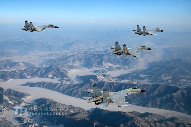 Máy bay chiến đấu J-11B Trung Quốc