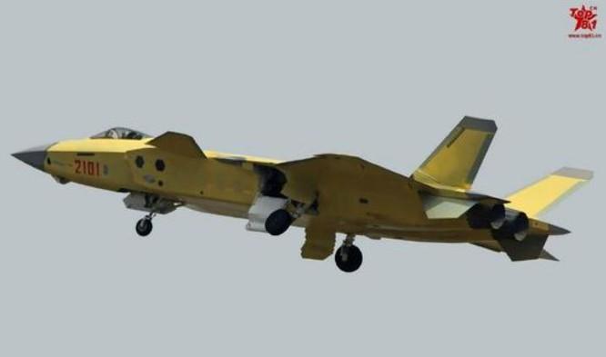 Trung Quốc phát triển máy bay chiến đấu tàng hình J-20. Ảnh: Sina