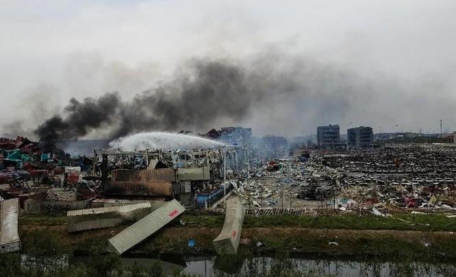 Sự cố nổ kho chứa chất độc hóa học ở thành phố Thiên Tân ngày 12/8/2015 đã đẩy nhanh việc