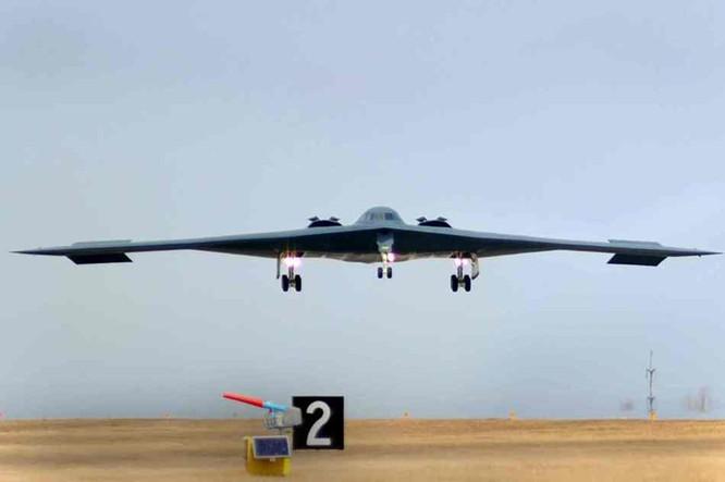 Máy bay ném bom chiến lược tàng hình B-2 của Không quân Mỹ (ảnh tư liệu)