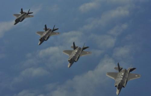 Máy bay chiến đấu F-35 do Mỹ sản xuất (ảnh tư liệu)