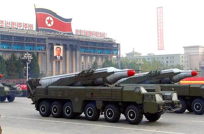 Tene lửa Nodong-2 Triều Tiên (ảnh tư liệu)