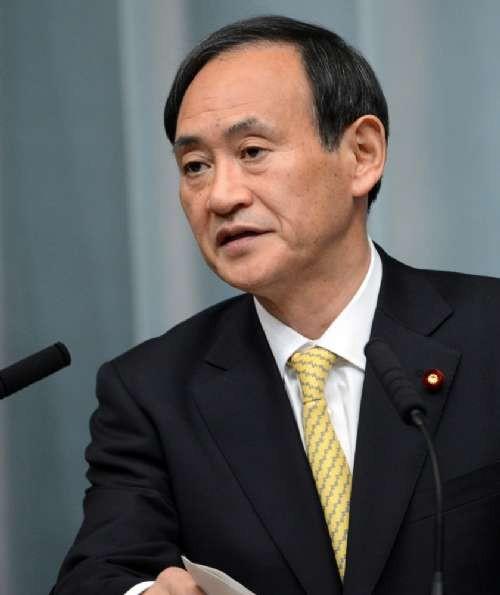 Chánh văn phòng nội các Nhật Bản Yosshihide Suga (ảnh tư liệu)