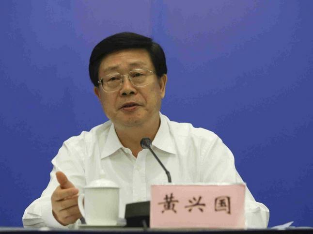 Hoàng Hưng Quốc, quyền Bí thư thành ủy, Chủ tịch thành phố Thiên Tân, Trung Quốc vừa bị ngã ngựa. Ảnh: Đa Chiều.