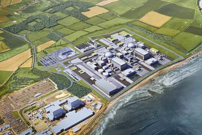 Nhà máy điện hạt nhân. Ảnh: QQ