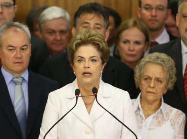 Tổng thống Brazil Dilma Rousseff đã bị bãi nhiệm (ảnh tư liệu minh họa)
