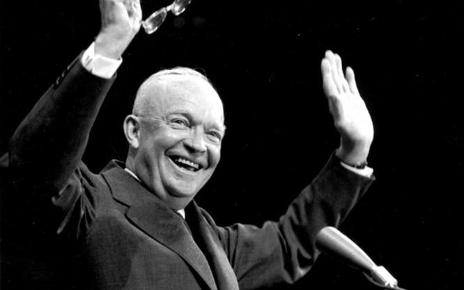 Dwight Eisenhower, Tổng thống Mỹ thứ 34 (ảnh tư liệu)