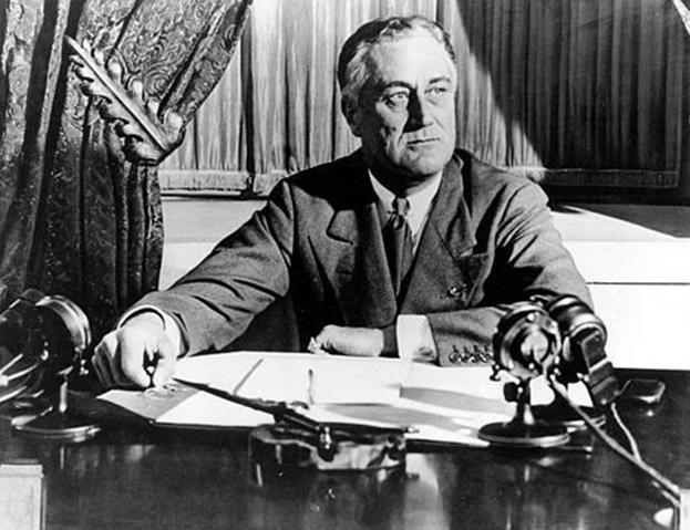 Franklin Roosevelt, Tổng thống Mỹ thứ 32 (ảnh tư liệu)