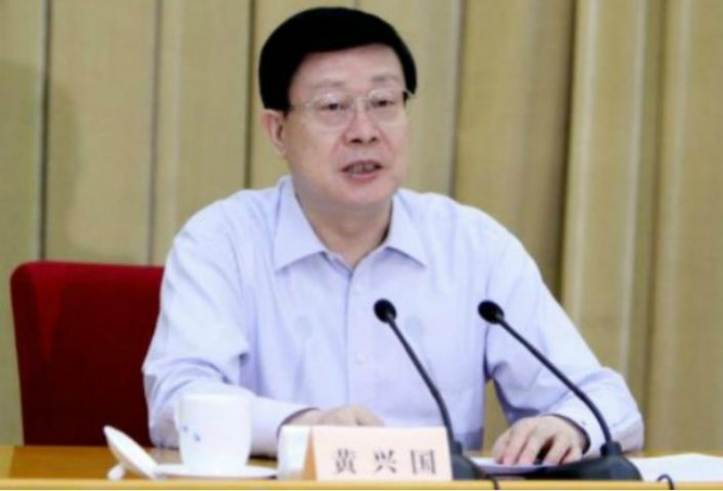Hoàng Hưng Quốc, quyền Bí thư thành ủy, Chủ tịch thành phố Thiên Tân, Trung Quốc vừa bị ngã ngựa. Ảnh: báo Hồng Kông.