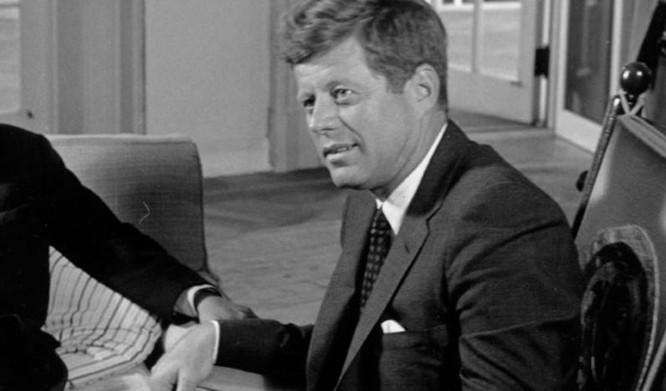 John F. Kennedy, Tổng thống Mỹ thứ 35. Ảnh: CNN