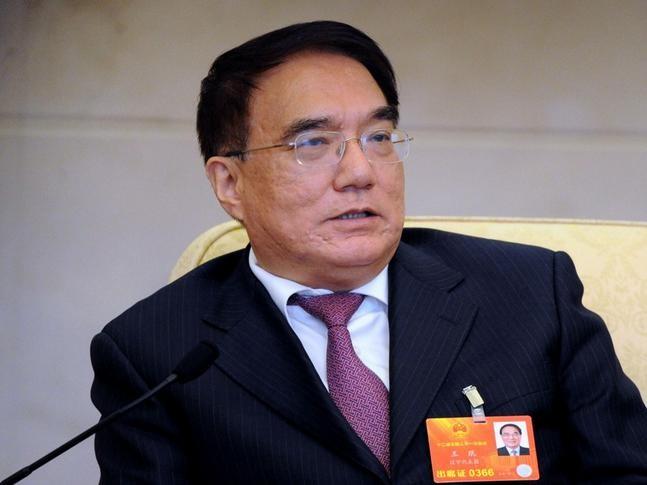 Vương Mân, nguyên Bí thư tỉnh ủy Liêu Ninh, nguyên Phó Chủ nhiệm Ủy ban Giáo dục-Khoa học-Văn hóa-Y tế Quốc hội Trung Quốc khóa 12 bị điều tra từ tháng 3/2016. Ảnh: Đa Chiều.