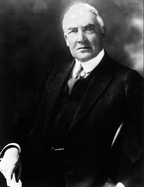 Warren Gamaliel Harding, Tổng thống Mỹ thứ 29. Ảnh: nytimes