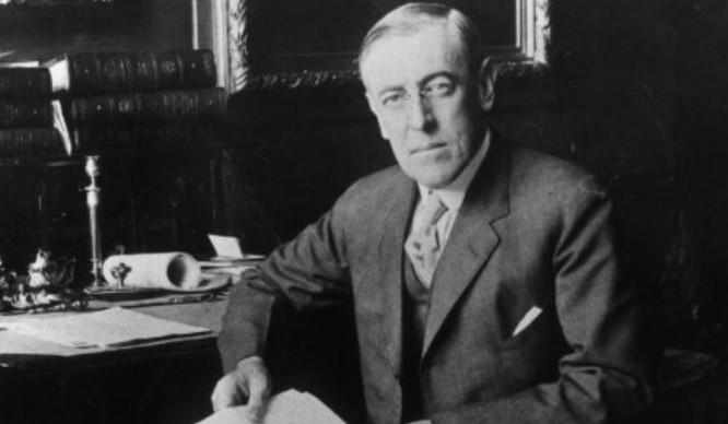 Woodrow Wilson, Tổng thống Mỹ thứ 28. Ảnh: CNN