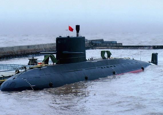 Tàu ngầm thông thường lớp Nguyên Trung Quốc (ảnh tư liệu)