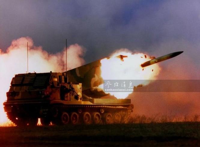 Rocket đa nòng M270 Lục quân Mỹ. Ảnh: Cankao