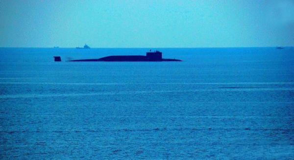 Tàu ngầm hạt nhân chiến lược Type 094 của Hải quân Trung Quốc. Ảnh: Sohu