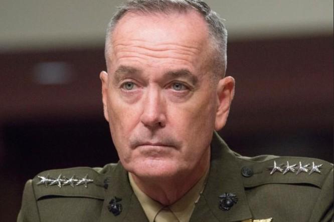 Tướng Joseph Dunford, Chủ tịch Hội đồng Tham mưu trưởng Liên quân Mỹ. Ảnh: Stripes