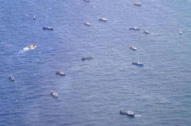 Tàu cá Trung Quốc (ảnh tư liệu)