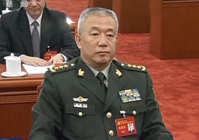 Thượng tướng Vương Kiến Bình, nguyên Phó Tham mưu trưởng Bộ Tham mưu liên hợp, Quân ủy Trung ương Trung Quốc bị bắt ngày 25/8/2016. Ảnh: báo Phượng Hoàng.