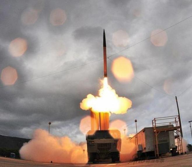 Hệ thống phòng thủ khu vực tầm cao giai đoạn cuối (THAAD) Mỹ (ảnh tư liệu)