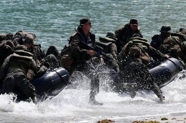 Mỹ và Philippines sắp tiến hành tập trận đổ bộ liên hợp (ảnh tư liệu)