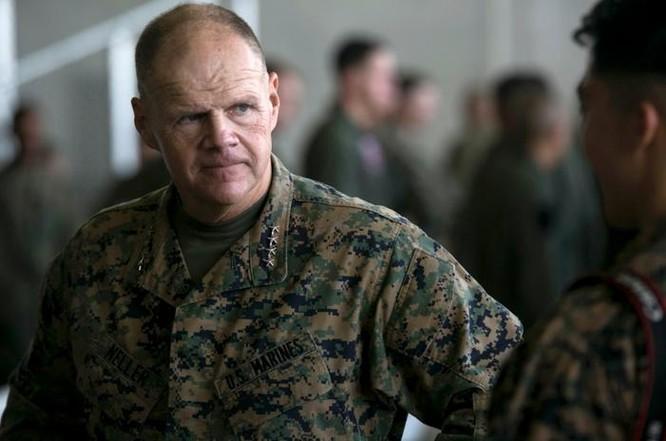 Thượng tướng Robert Neller, Tư lệnh Thủy quân lục chiến Mỹ. Ảnh: Stripes