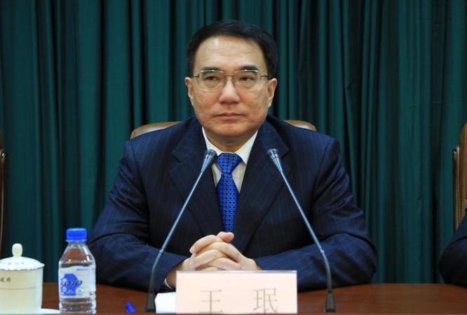 Vương Mân, nguyên Bí thư tỉnh ủy Liêu Ninh, nguyên Phó Chủ nhiệm Ủy ban Giáo dục, Khoa học, Văn hóa và Y tế Quốc hội Trung Quốc khóa 12 bị điều tra từ tháng 3/2016. Ảnh: Người quan sát