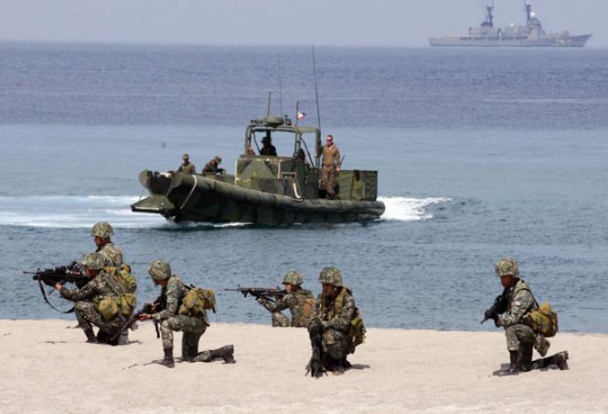 Mỹ và Philippines tiến hành tập trận chung (ảnh tư liệu)