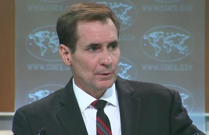 Người phát ngôn Bộ Ngoại giao Mỹ John Kirby. Ảnh: CNN