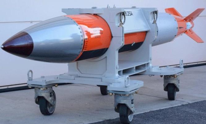 Bom hạt nhân B61-12 của Mỹ. Ảnh: motherjones