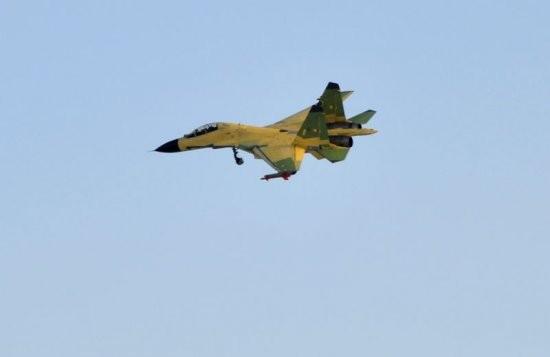 Máy bay chiến đấu J-16 Trung Quốc (ảnh tư liệu)