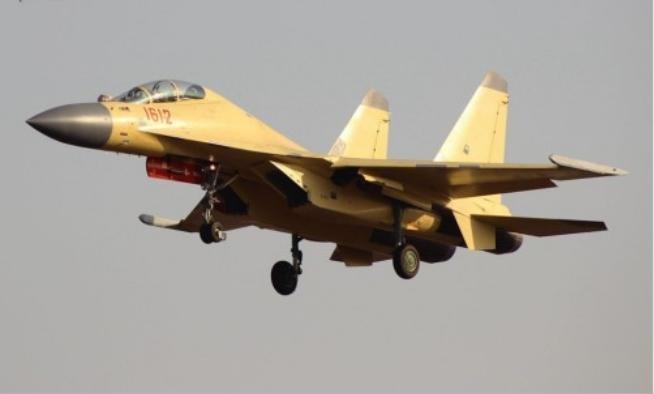 Máy bay chiến đấu J-16 Trung Quốc. Ảnh: Sina