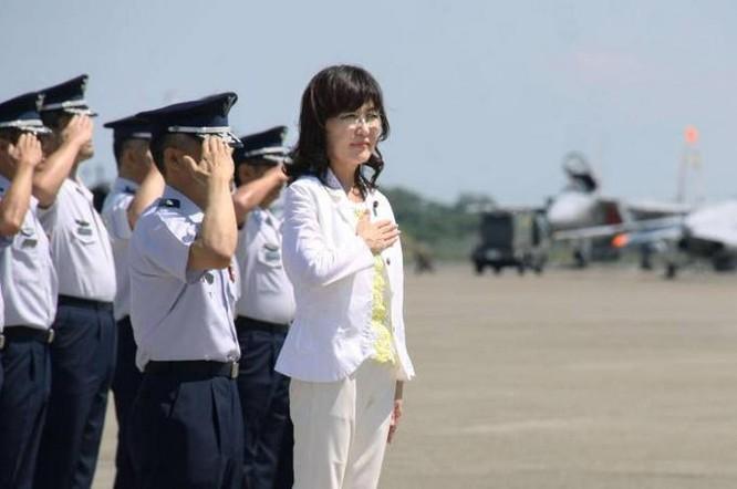 Bà Tomomi Inada, Bộ trưởng Quốc phòng Nhật Bản. Ảnh: Japantimes