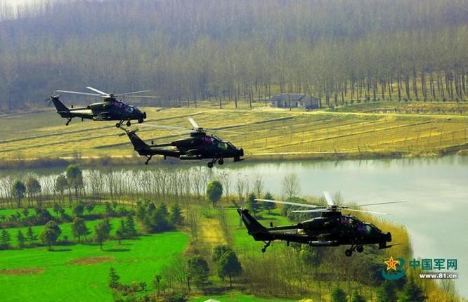 Máy bay trực thăng vũ trang Z-10 Trung Quốc. Ảnh: Cankao