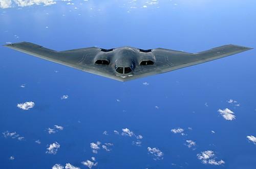 Máy bay ném bom chiến lược B-2 của Không quân Mỹ (ảnh tư liệu)